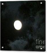 Menacing Moonlight Acrylic Print