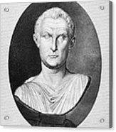 Menander (343-291 B.c.) Acrylic Print by Granger