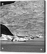 Mendenhall Glacier Bw Acrylic Print