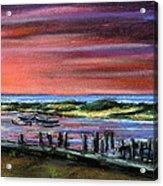 Menemsha Sunset Acrylic Print
