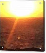 Menorca Sunrise Acrylic Print
