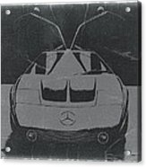 Mercedes Benz C IIi Concept Acrylic Print by Naxart Studio