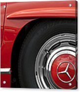 Mercedes Wheel Acrylic Print