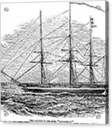 Merchant Steamship, 1844 Acrylic Print