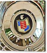 Mercury Wheel Emblem Acrylic Print