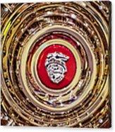 Mercury Wheel Rim Acrylic Print