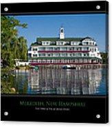 Meredith Inn Acrylic Print by Jim McDonald Photography