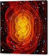 Merged Black Holes Acrylic Print