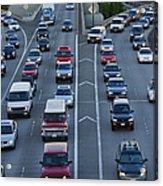 Merging Traffic Acrylic Print
