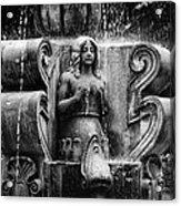 Mermaid Fountain Acrylic Print