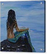 Mermaid Magic Acrylic Print