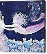 Mermaid Pink Acrylic Print
