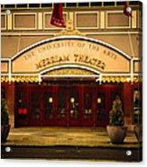 Merriam Theater Acrylic Print