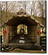 Merry Christmas From Tennessee Acrylic Print