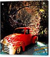 Merry Christmas From Vivachas Acrylic Print