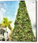 Merry Christmas Tree 2012 Acrylic Print