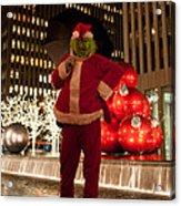 Merry Grinchmas Acrylic Print