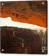 Mesa Arch First Light Acrylic Print