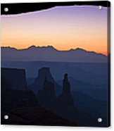 Mesa Dawn Acrylic Print by Andrew Soundarajan