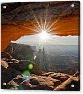 Mesa's Arch View Acrylic Print