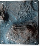 Mesas In The Nilosyrtis Mensae Region Acrylic Print