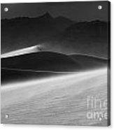 Death Valley California Mesquite Dunes 3 Acrylic Print