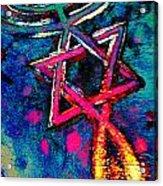 Messianic Colors Acrylic Print