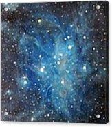 Messier 45 Pleiades Constellation Acrylic Print