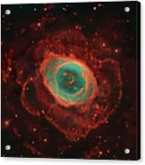 Messier 57, The Ring Nebula Acrylic Print