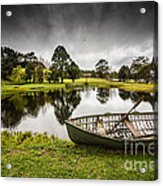 Messing about in a boat Acrylic Print