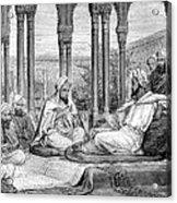 Mesue The Elder, Persian Physician Acrylic Print