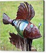 Metal Fish Acrylic Print