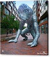 Metal Monster Acrylic Print
