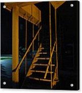 Metal Staircase Acrylic Print