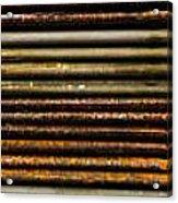 Metal Stripe  Acrylic Print