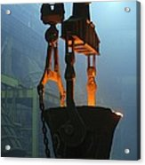 Metalworks Foundry Equipment Acrylic Print