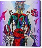 Metamorphosis Of Eleonore Into A Snake. Acrylic Print