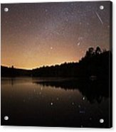 Meteor Shower Acrylic Print by Laurent Laveder