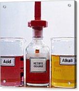 Methyl Orange Indicator Acrylic Print