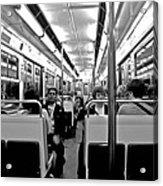 Metro Ride Acrylic Print