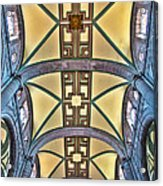 Metropolitan Cathedral Ceiling Acrylic Print