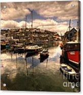 Mevagissy Harbour Acrylic Print