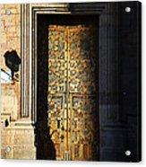 Mexican Door 21 Acrylic Print