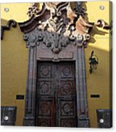 Mexican Door 28 Acrylic Print