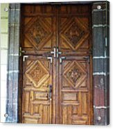 Mexican Door 29 Acrylic Print