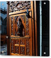 Mexican Door 3 Acrylic Print