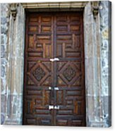 Mexican Door 32 Acrylic Print