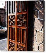 Mexican Door 42 Acrylic Print