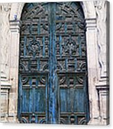 Mexican Door 6 Acrylic Print