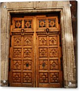 Mexican Door 67 Acrylic Print